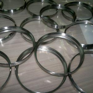 Aluminum cap, precise turning