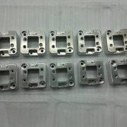 Aluminum precise milling