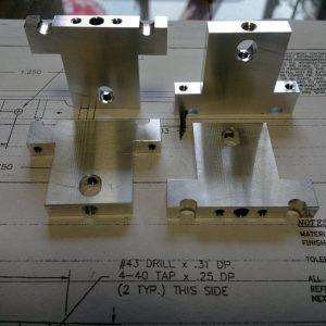 Aluminum precise milling.