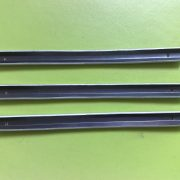 Steel + black oxide and zinc plating, steel clip (3)