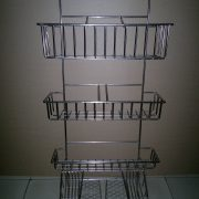 Steel + chrome plating, bending and welding shelf (3)