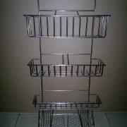 Steel + chrome plating, bending and welding shelf (3)